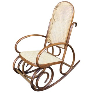 Bentwood Thonet-Style Rocking Chair