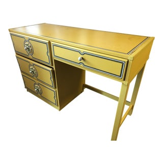 1960s Vintage Drexel Flower Power Desk