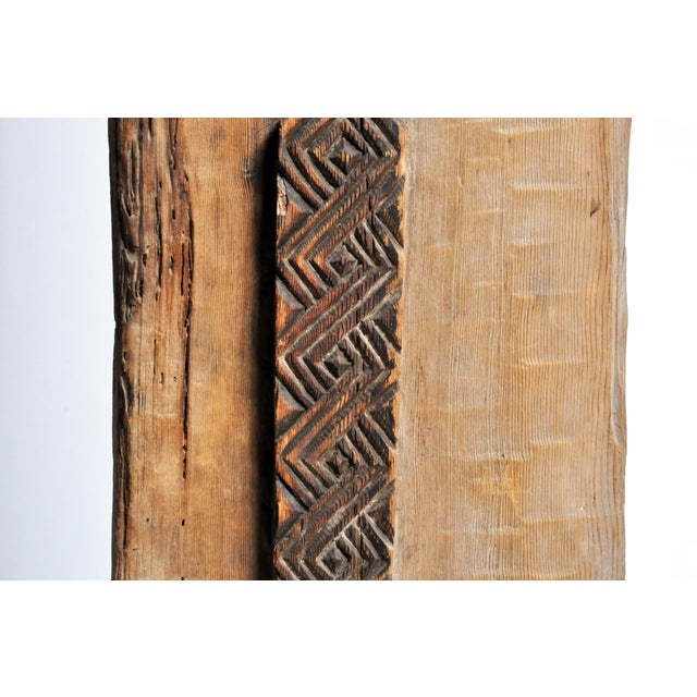 Carved Wooden Door Panel on Stands - Image 7 of 11