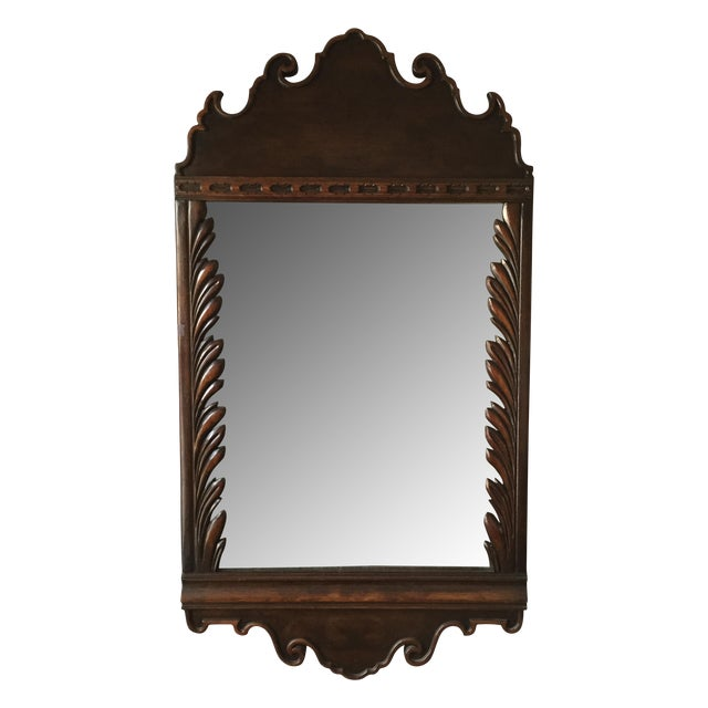 Image of Hollywood Regency Kittinger Palm Front Mirror