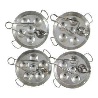 French Escargot Cookware & Utensils - 8 Pieces