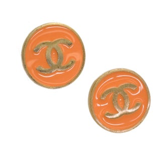 Chanel Clip-On Gold Plated Earrings