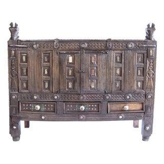 Vintage Indian Tribal Cabinet
