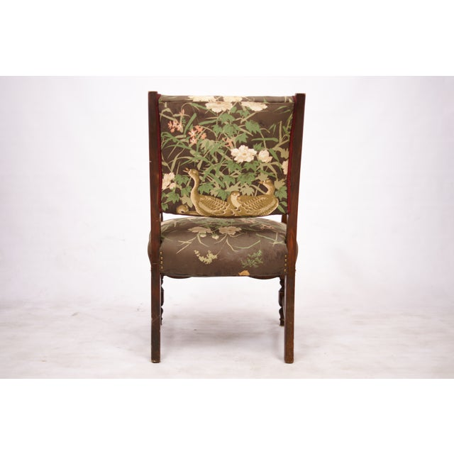 Wild Duck Upholstered Chair - Image 3 of 4