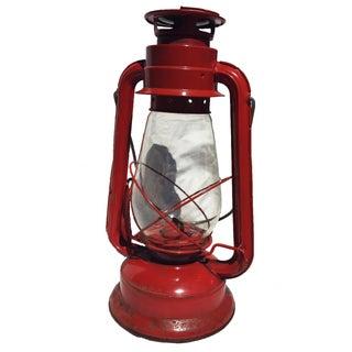 Vintage Red Camping Lantern