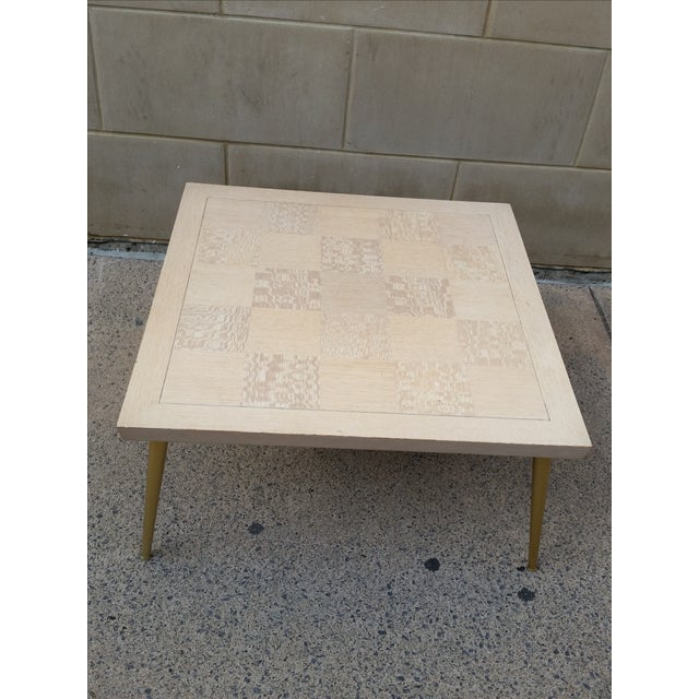 Lane Parquet-Top Coffee Table - Image 3 of 8