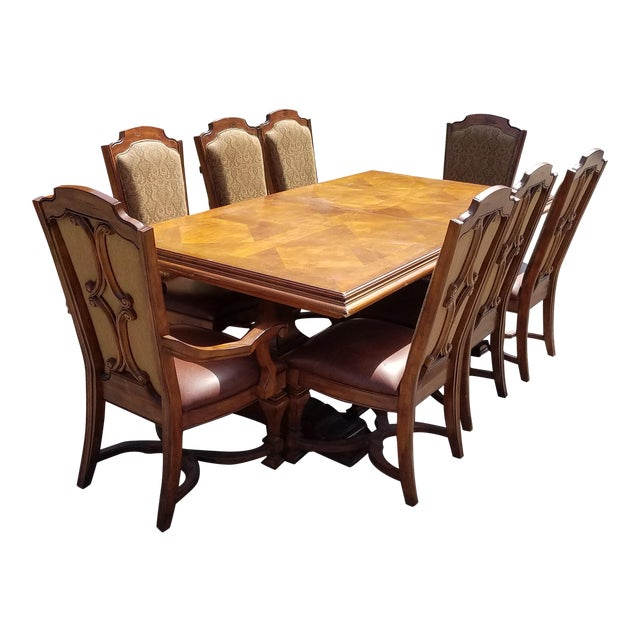 Stanley Grande Balustrade Pedestal Dining Room Chairs