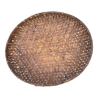 Vintage Bohemain Fish Drying Basket