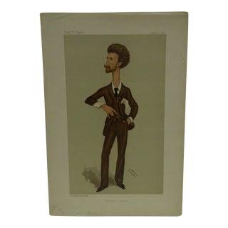"""Vintage Cunningham Graham """"Trafalgar Square"""" Vanity Fair Print"""