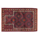 Image of Apadana - Red & Purple Baluch Rug - 3' X 4'3""