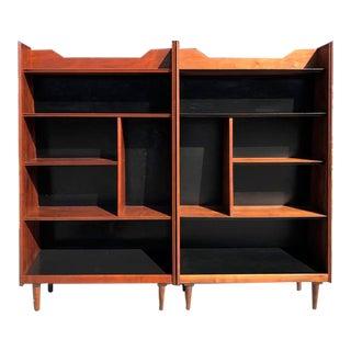 Dillingham Mid-Century Bookshelves - A Pair