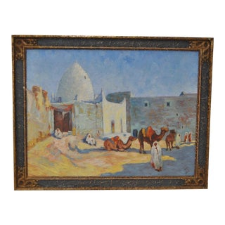 Impressionist North African Landscape Painting