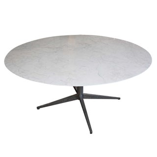 Florence Knoll Carrara Marble Dining Table