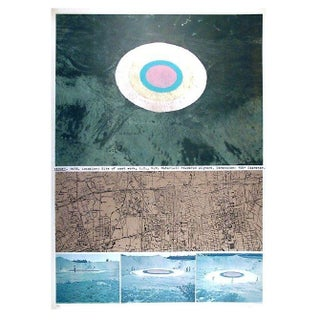 Dennis Oppenheim - Target Lithograph