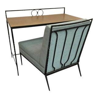 Hermes Style Desk & Chair - a Pair