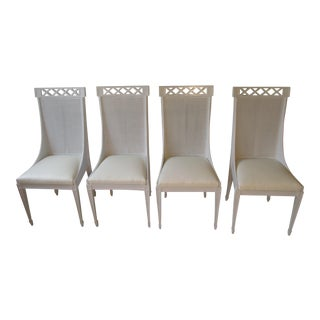 Dorothy Draper-Style Dining Chairs - Set of 4