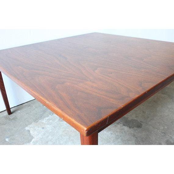 Mid-Century Walnut Coffee Table - Image 4 of 4