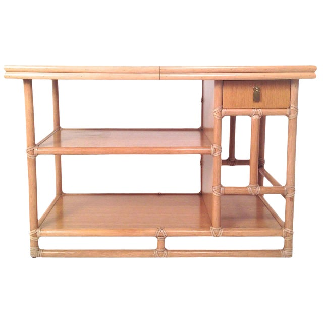 McGuire Bamboo Expandable Bar - Image 1 of 3
