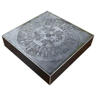 Modern Metal Knight Coffee Table