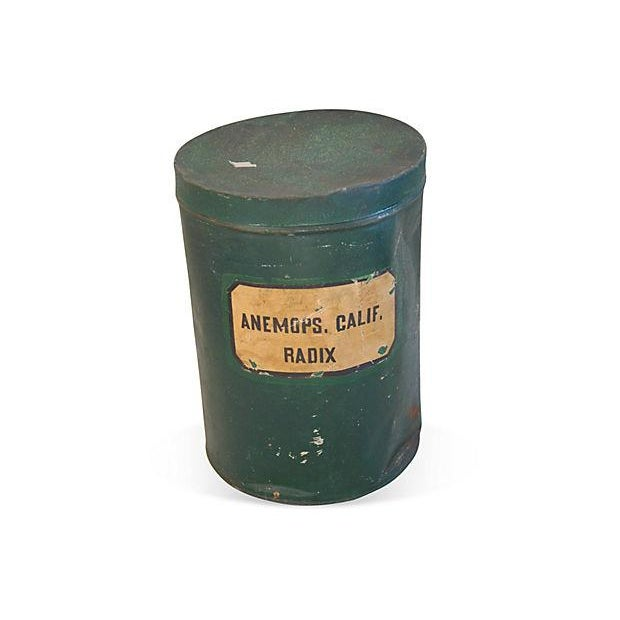 Antique Apothecary Herbalist Tins - Set of Two - Image 2 of 5
