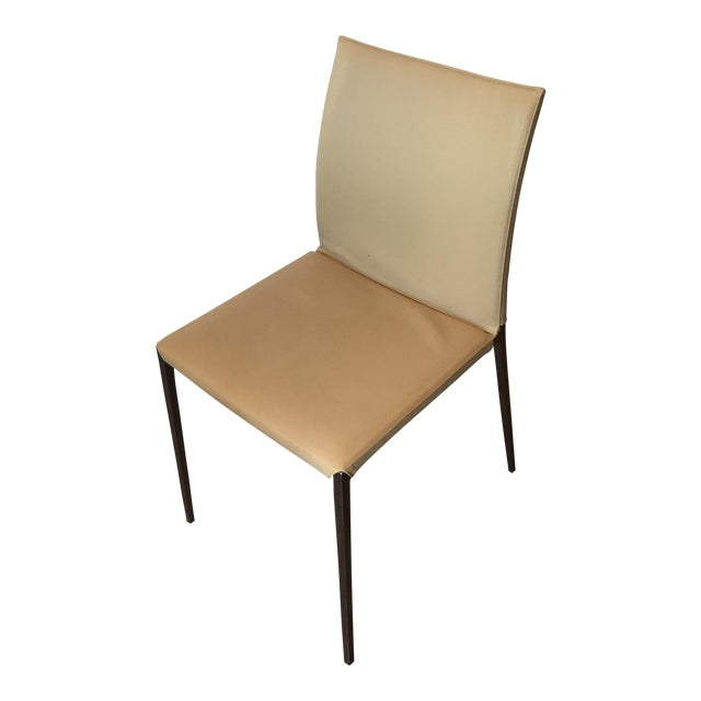 Zanotta Lia Chair in Leather - Image 1 of 7