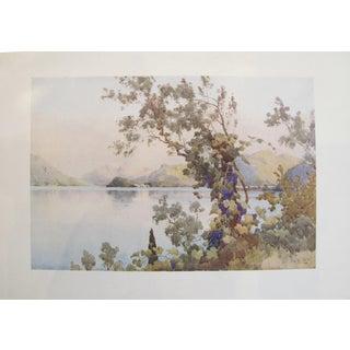 1905 Ella du Cane Print, Evening, Lago di Como