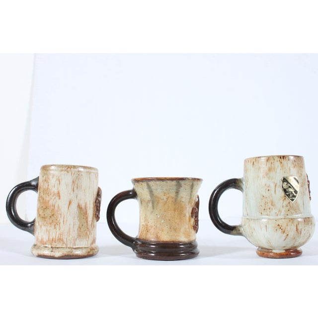Belgium Mugs By Guerin Pottery - Set of 3 - Image 3 of 5