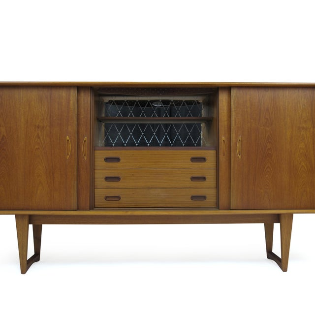 Image of Teak Sideboard & Bar Cabinet