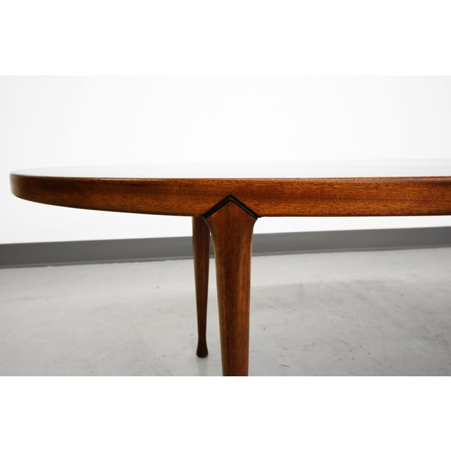Mid-Century Surfboard Coffee Table Made in Norway - Image 5 of 8