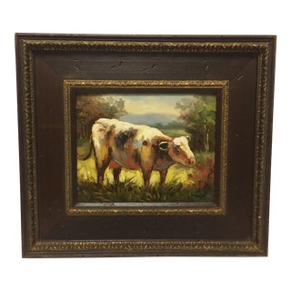 Cow Impressionistic Oil Painting