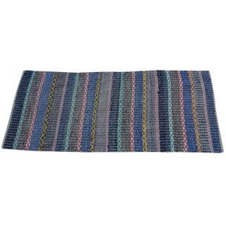 Hand-Woven Swedish Rag Rug