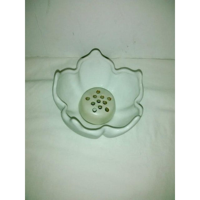 Vintage Van Briggle White Lotus Vase - Image 3 of 7