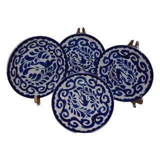 Puebla Anfora Talavera Tapas Plates - Set of 4
