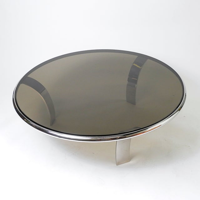 Gardner Leaver Smoked Glass Coffee Table - Image 5 of 7