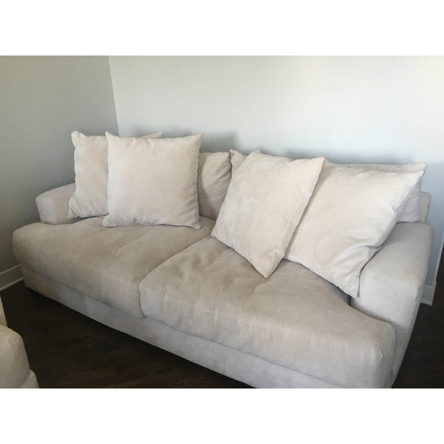 Z Gallerie Stella Cream Sofa
