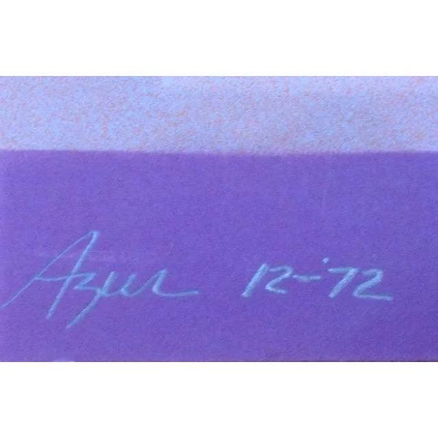 Image of 1970's Op-Art Silkscreen by Judith Azur