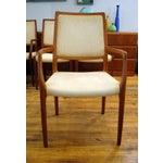Image of JL Moller Vintage Teak Dining Chairs - Set of 4