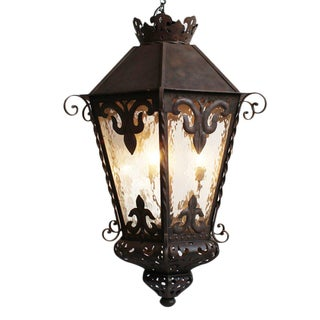 Spanish Large Iron Work Lantern