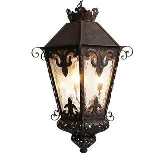 Spanish Large Iron Work Lantern