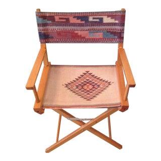 Southwestern Foldable Director Chair