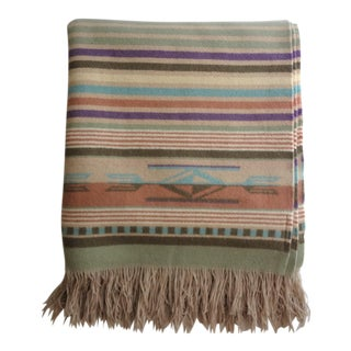 Pendleton Chimayo 'Agave' Wool Blanket Throw