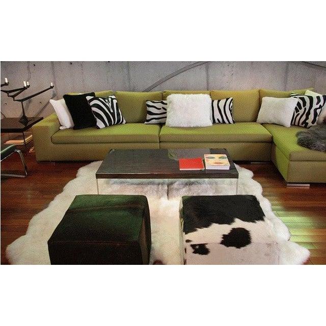 Natural Sheepskin Pillow - Image 2 of 2