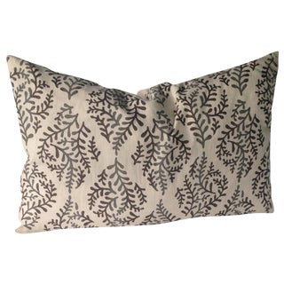 Gailbraith & Paul Hand Block Print Pillow