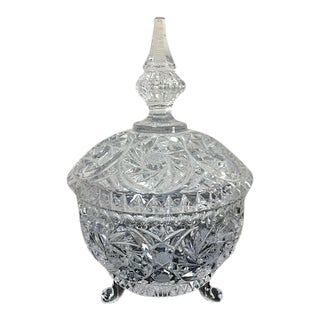 Imperlux Crystal Footed Candy Dish