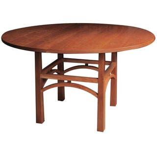 Solid Cherry Craftsman Dining Table