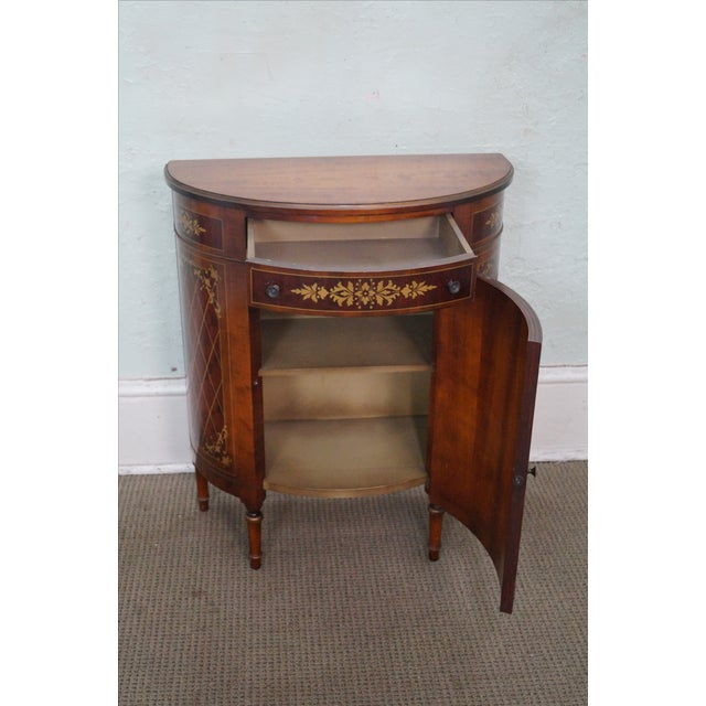 1940s Satinwood Paint Decorated Console Table - Image 2 of 10