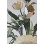 Image of Vintage Ceramic Tulips Chandelier