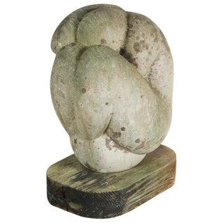 Mid-Century Figural Stone Sculpture