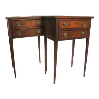 Antique Federal Style End Tables - A Pair