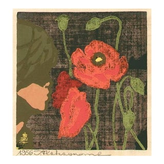 "Tadashia Nakayama - ""Girl With Poppies"""